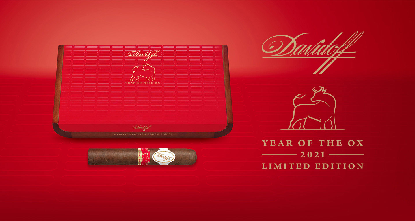 Davidoff Cigars The Year of the Ox  Collection 2021 Limited Edition