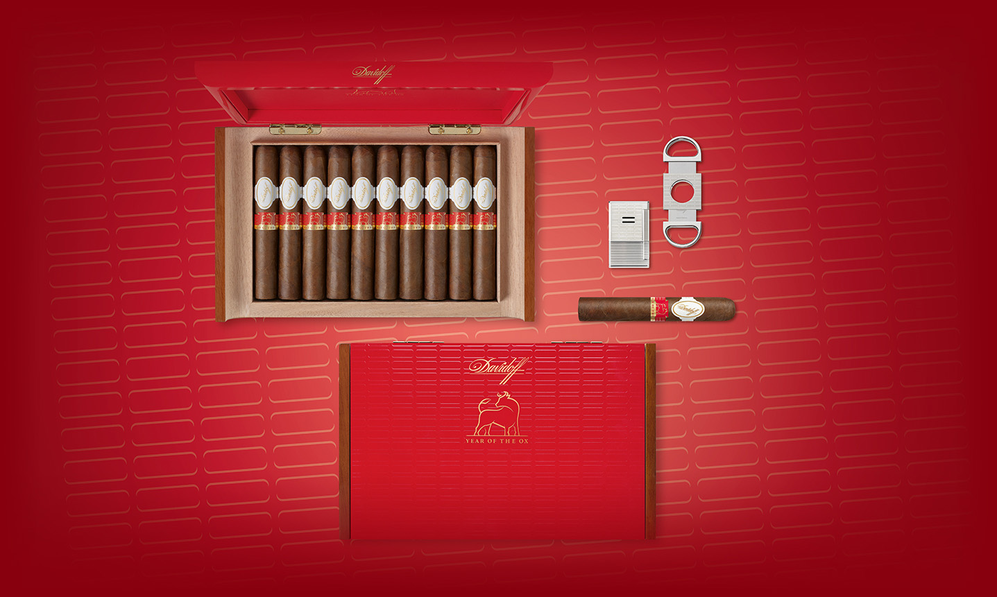 The Davidoff Cigars Year of the Ox Collection overview