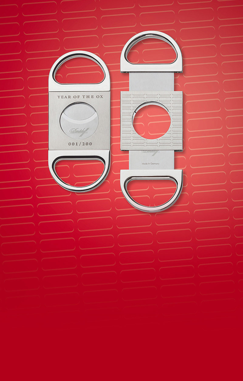 Davidoff Year of the Ox cigar cutter 2021